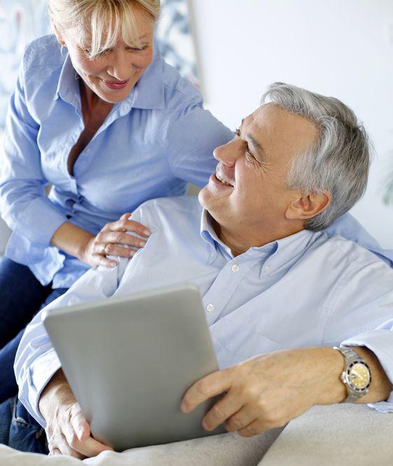 Senioren Tablet Home Comfort Dresden Smart Home